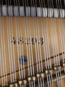 numero di serie del pianoforte a coda bluthner 210 in vendita a milano