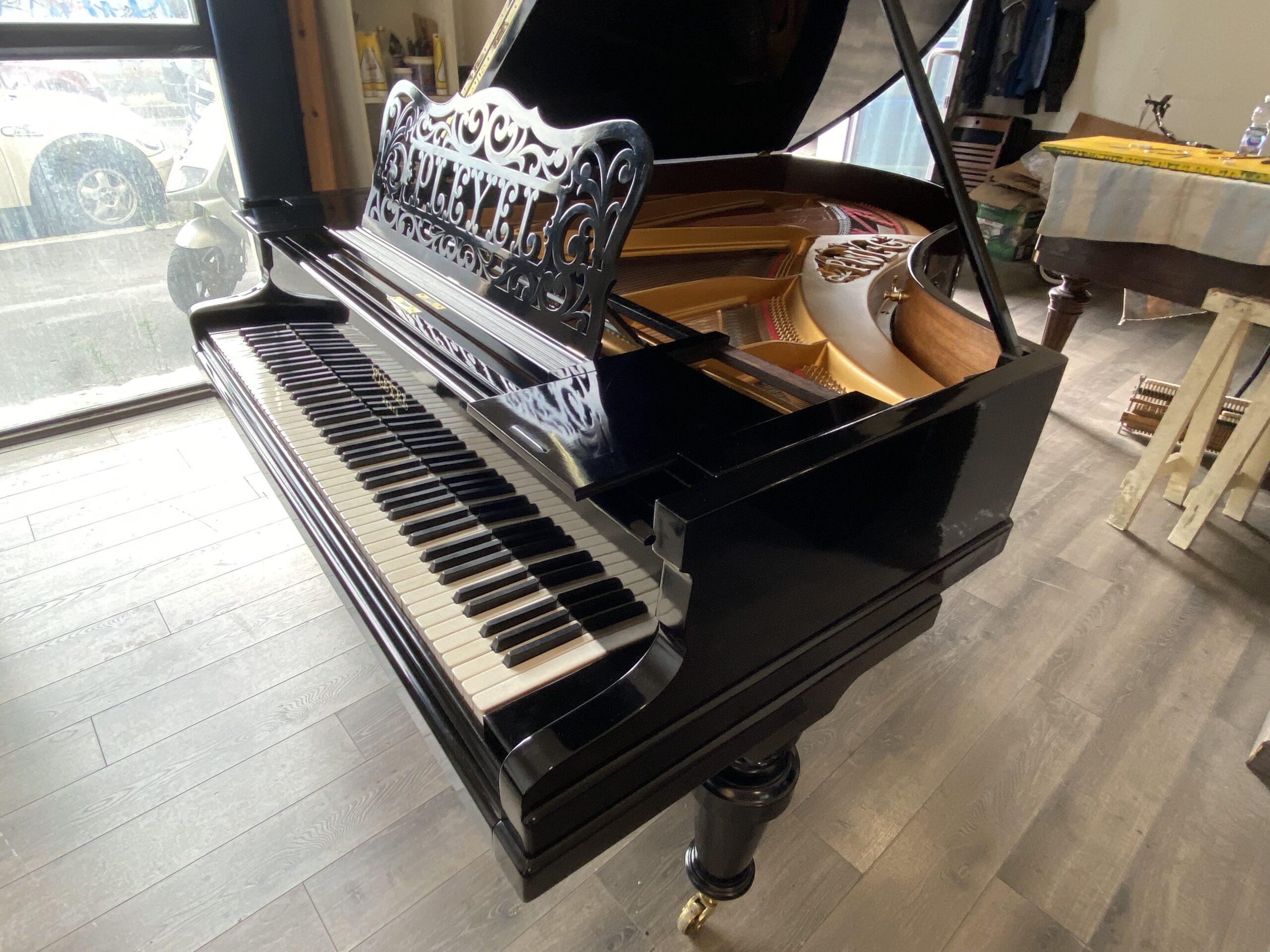 Pianoforte a Coda Pleyel del 1907.