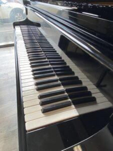 Tastiera di un pianoforte Pleyel centenario